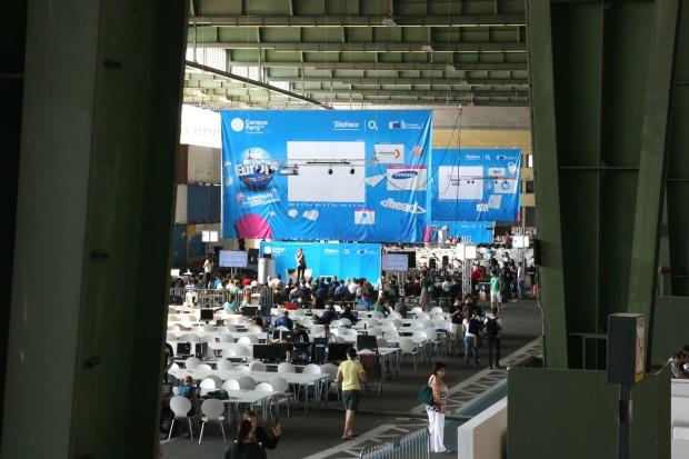 Die Campus Party Europe findet zum ersten Mal in Deutschland statt.<br>Bilder: Nina Sebayang, Jörg Thoma