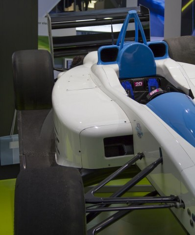 Formulec EH01 (auf der Hannover Messe 2011), Prototyp eines Elektrorennwagens (Foto: Werner Pluta/Golem.de)