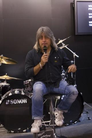 Motörhead-Drummer Mikkey Dee auf der Ifa.  (Foto: Werner Pluta/Golem.de)