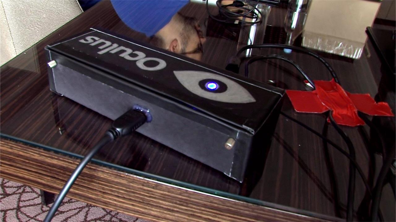 Oculus Rift ausprobiert: Das Holodeck am Rhein -