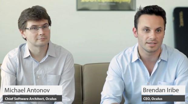 Oculus holt sich ein erfahrenes Management - Mike Antonov und Brendan Iribe gründeten Scaleform und verkauften es an Autodesk. (Bild: Oculus)