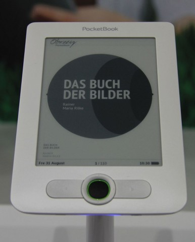 E-Book-Reader Basic von Pocketbook (Foto: Werner Pluta/Golem.de)