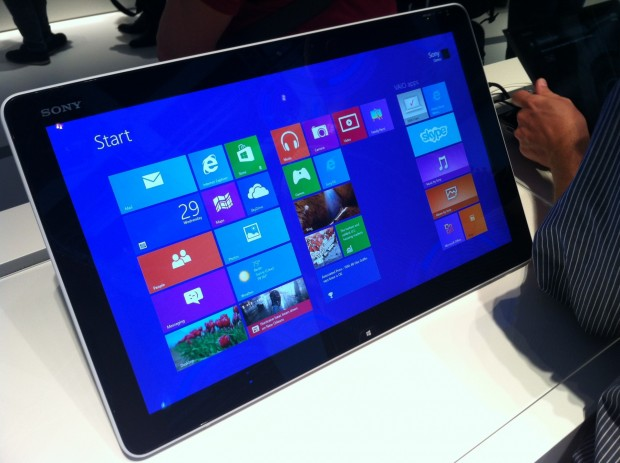 Sony Vaio Tap - Touch-PC mit Windows 8 (Foto: ck)