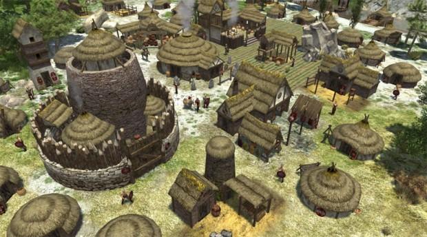 Das überarbeitete keltische Fort Broch