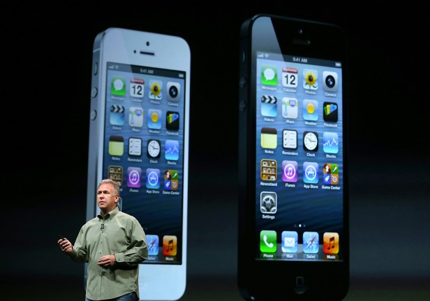 iPhone 5 (Quelle: Justin Sullivan/Getty Images)