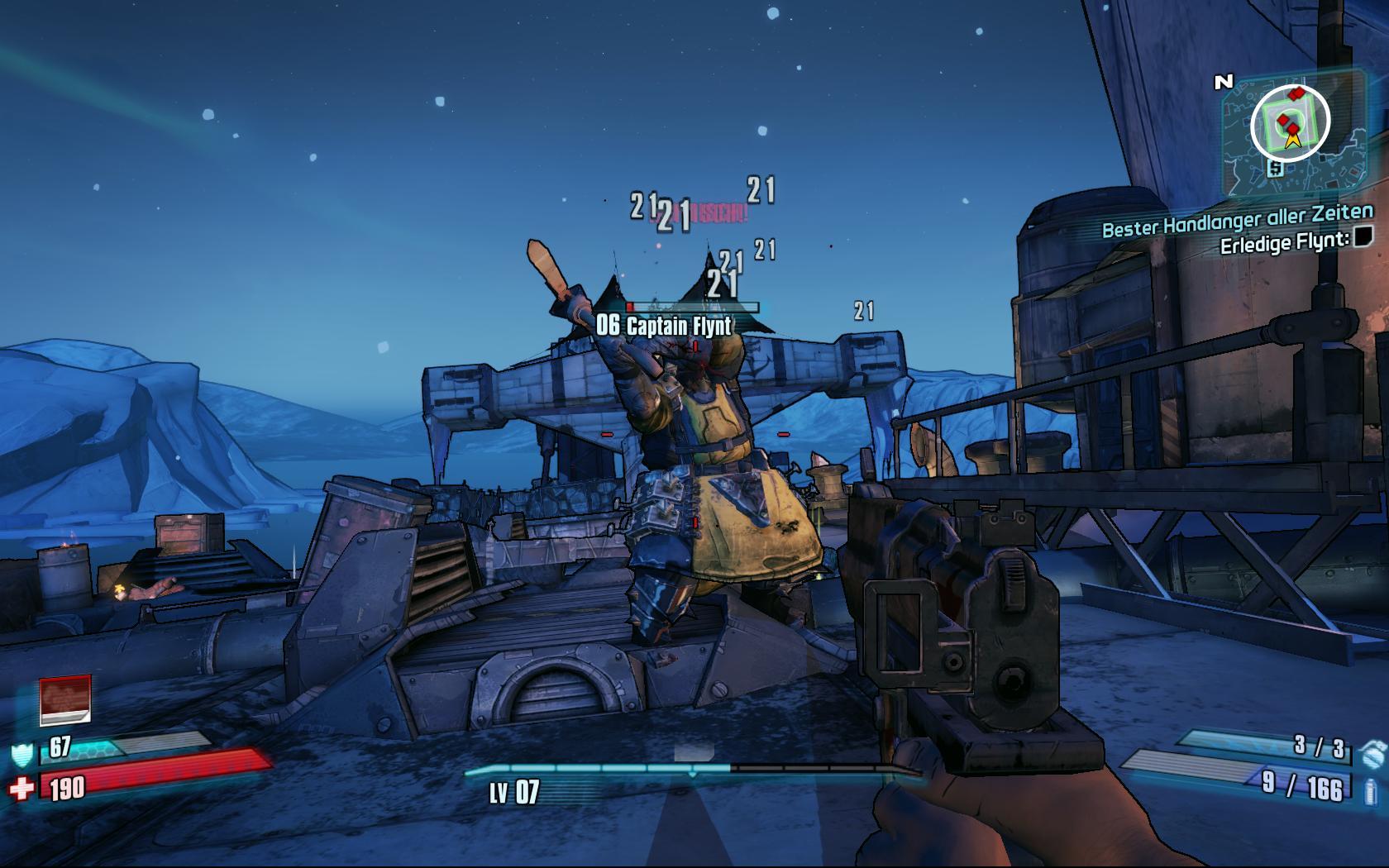 Test Borderlands 2: Kämpfe, Kanonen, Koop - und ein Kammerjäger - Alle paar Spielstunden haben wir es mit einem besonders kampfstarken Oberboss zu tun.
