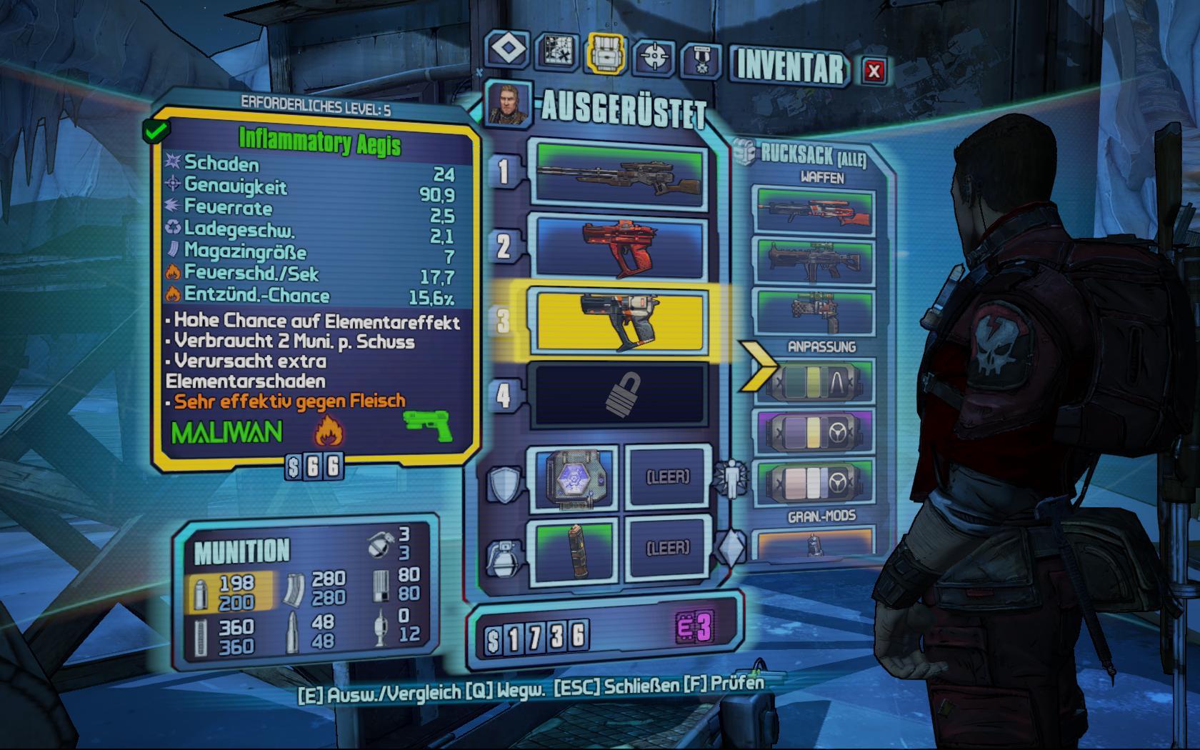 Test Borderlands 2: Kämpfe, Kanonen, Koop - und ein Kammerjäger -