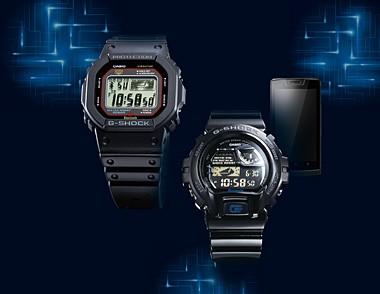 Casio-Uhr G-Shock GB-6900AA und 5600AA (Bild: Casio)