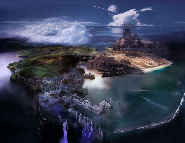 Konzeptgrafik von Final Fantasy 13 Lightning