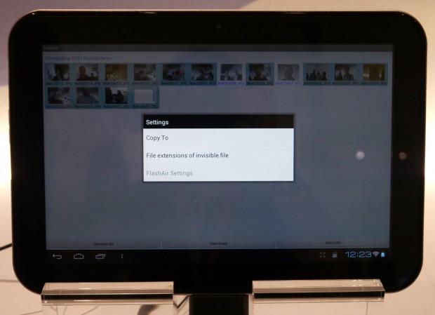 In den Einstellungen kann der Speicherordner für den Download festgelegt werden.