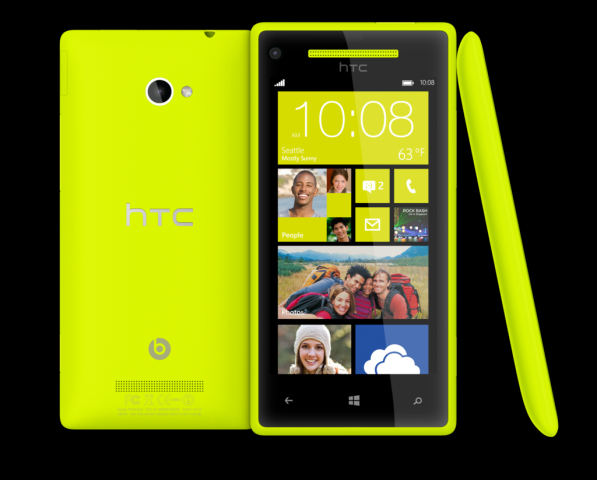 Windows Phone 8X (Quelle: HTC)