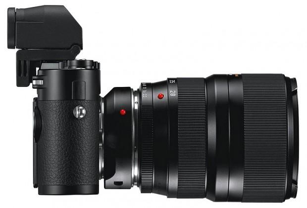 Leica M mit elektronischem Sucher (Bild: Leica)