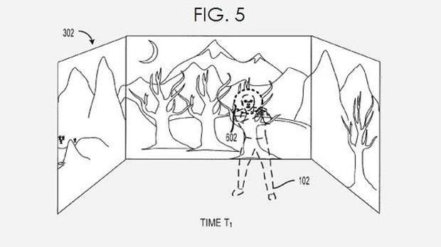 Illustration von Microsoft-Patent
