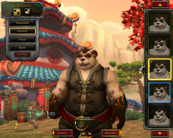 In der Charaktergenerierung kann der Spieler männliche...