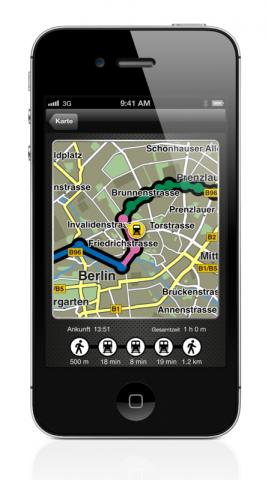 Navigon 2.2 für iOS (Quelle: Garmin)