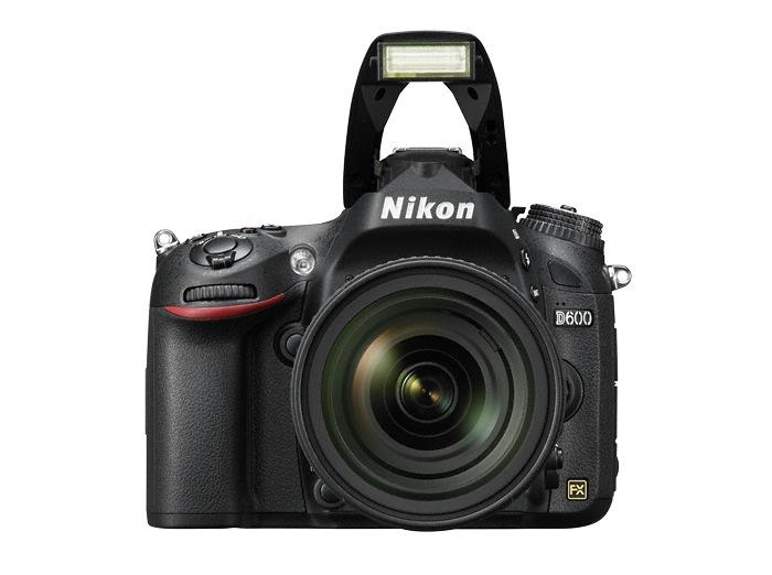 Vollformatkamera: Nikon D600 lässt sich mit Tablets und Smartphones steuern - Nikon D600 (Bild: Nikon)