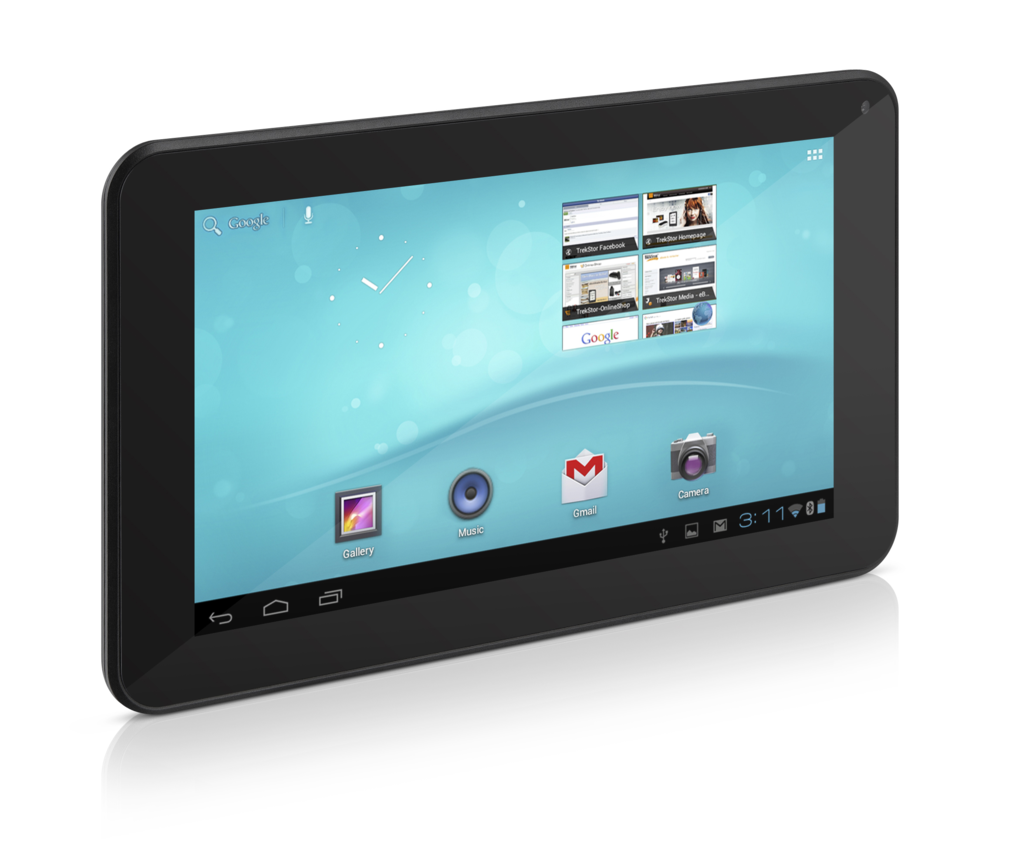 Trekstor Surftab Breeze 7: Leichtes 7-Zoll-Tablet mit Android 4 für 120 Euro - Surftab Breeze 7 (Quelle: Trekstor)