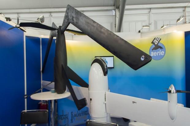 Aerie-Drohnen auf der Ila 2012 in Berlin (Foto: Werner Pluta/Golem.de)