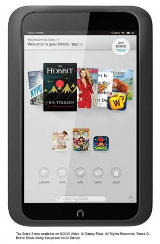 Das 7-Zoll-Tablet Nook HD... (Bild: Barnes & Noble)