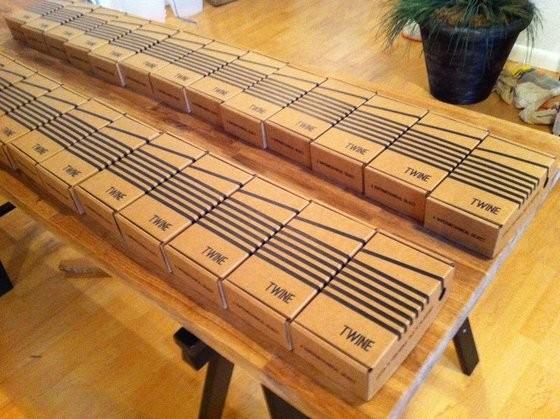 Auslieferung: Die ersten 25 Twine-Boxen wurden verschickt. (Bild: Supermechanical)
