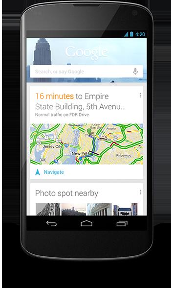 Google: Android 4.2, Musik und Filme für Deutschland - Google Now in Android 4.2 erweitert