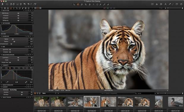 Phase One: Bildbearbeitung Capture One Pro 7 mit besserem Raw-Konverter - Golem.de