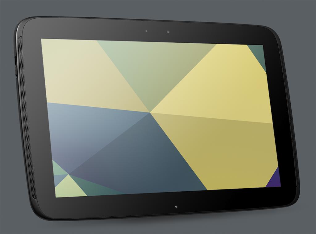 Nexus 10: 10-Zoll-Tablet mit höherer Auflösung als iPad 4 - Das neue Google Nexus 10  (Quelle: Google)