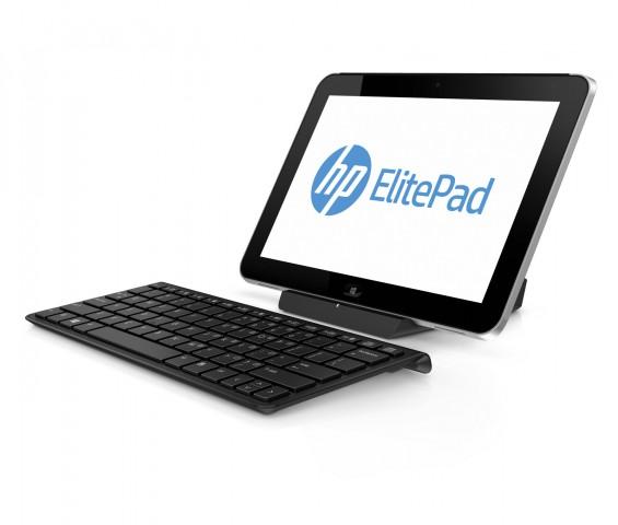 HP Elitepad 900 mit Dock und Tastatur