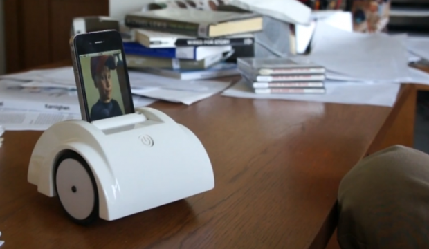 Helios-Telepräsenzroboter (Bild: Kickstarter)