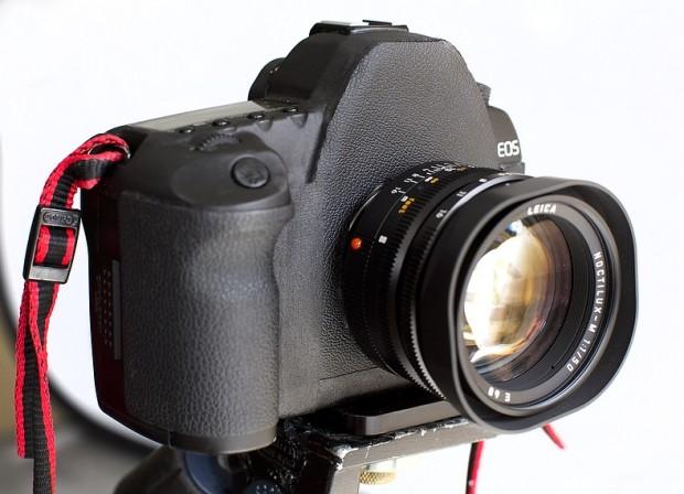Leica-Canon-Mod (Bild mit freundlicher Genehmigung von Robert Benson)