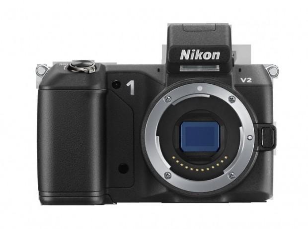 Nikon 1 V2 ohne Objektiv (Bild: Nikon)
