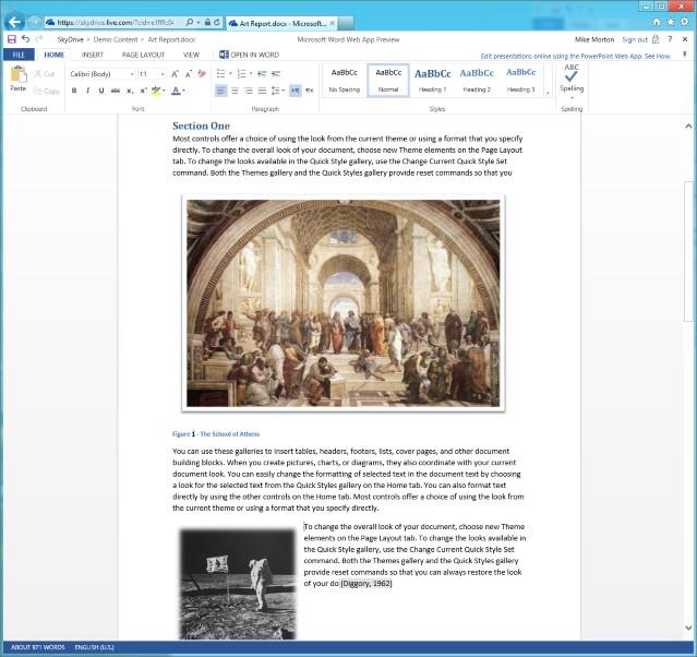 Office im Browser: Microsoft stellt neue Version der Office Web Apps bereit - Word als Web-App mit neuer Layoutansicht