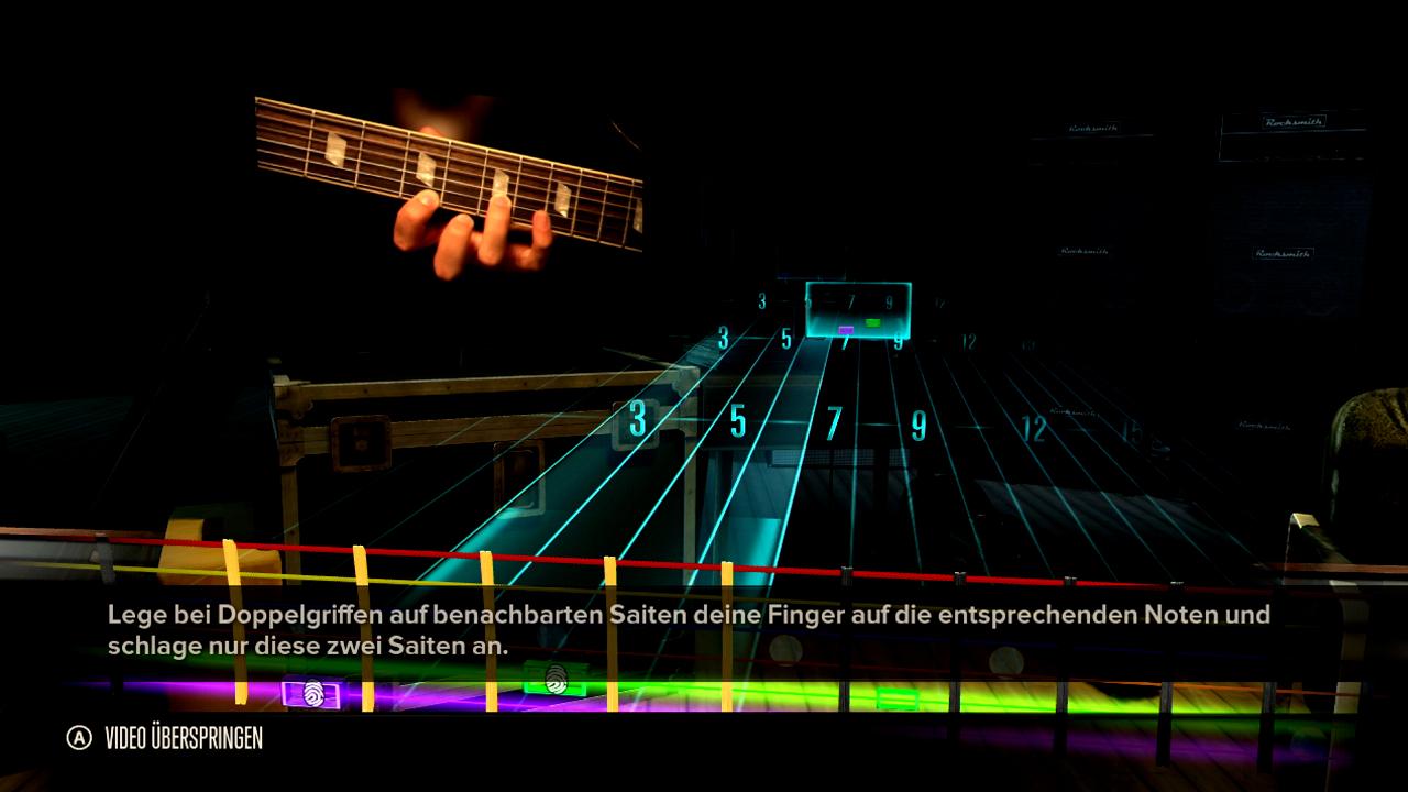 Test Rocksmith: Gitarrenlehrer Gnadenlos -