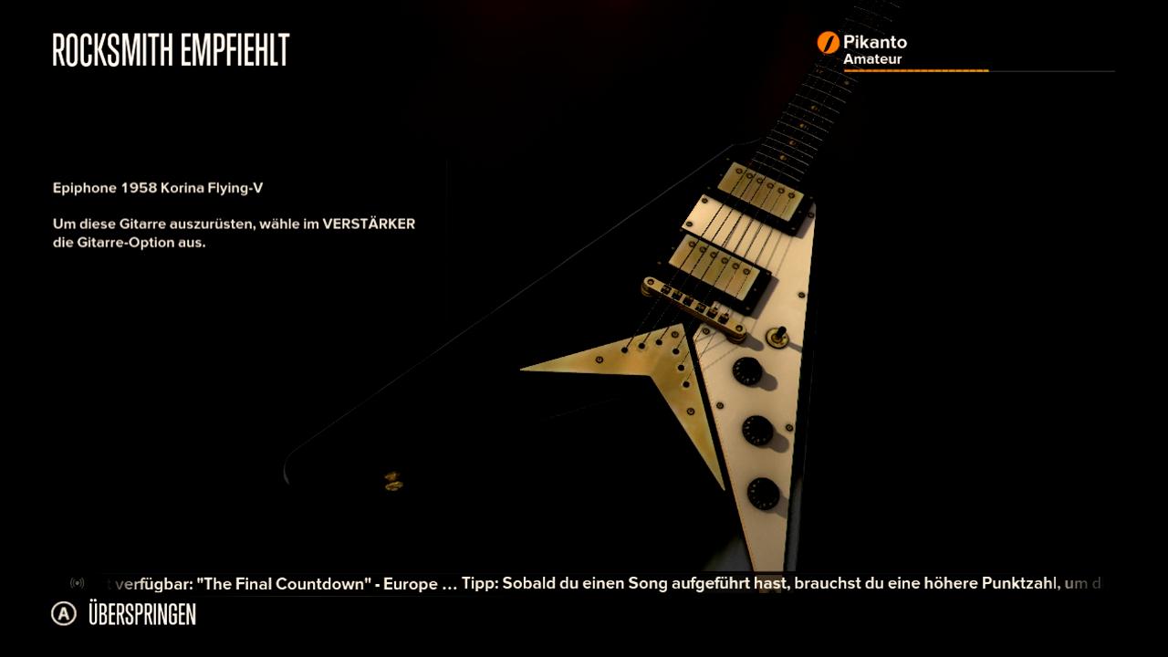 Test Rocksmith: Gitarrenlehrer Gnadenlos - Mit freispielbaren Amps ahmt Rocksmith unterschiedliche Gitarrentypen nach.