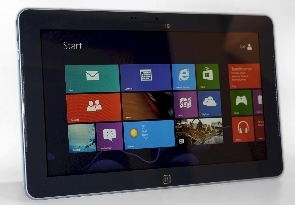 Samsung Ativ Smart PC im Test: Windows 8 und Atom im Tablet - das Beste aus beiden Welten? - ... oder den Kacheln der Apps.