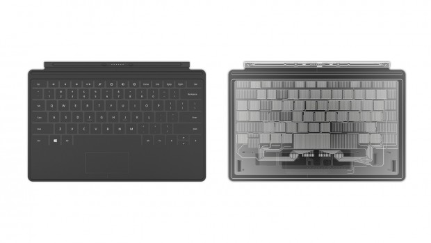 Touch Cover für Microsofts Tablet Surface