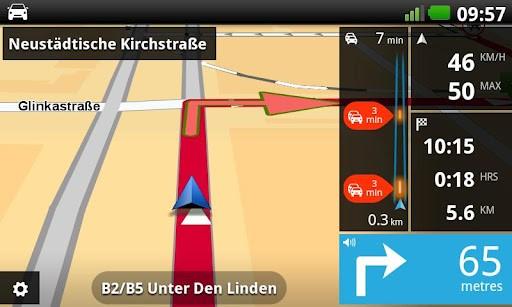 Tomtom-App für Android (Quelle: Tomtom)