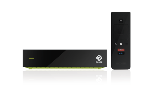 Boxee TV - traditionelles Set-Top-Box-Design, anders als bei der Boxee Box (Bild: Boxee)
