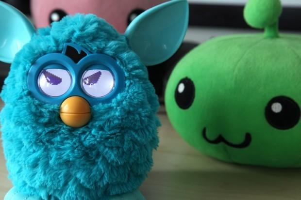 Neuer Furby - ein blaues/türkises Modell...