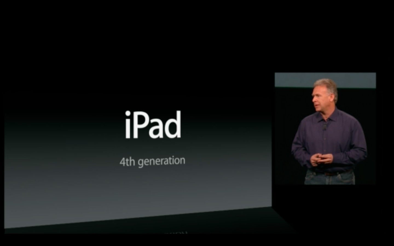 Lightning: Apple stellt iPad 4 vor - Apple stellt die 4. iPad-Generation vor