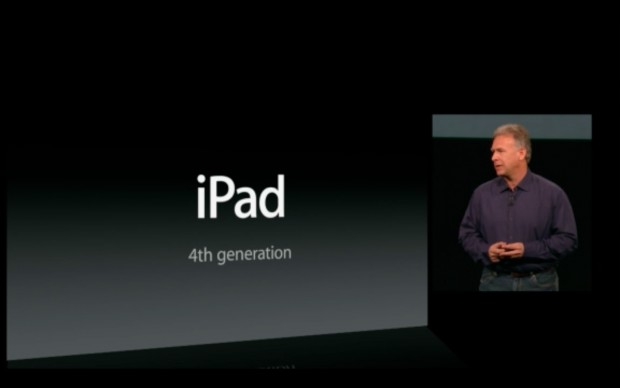 Apple stellt die 4. iPad-Generation vor