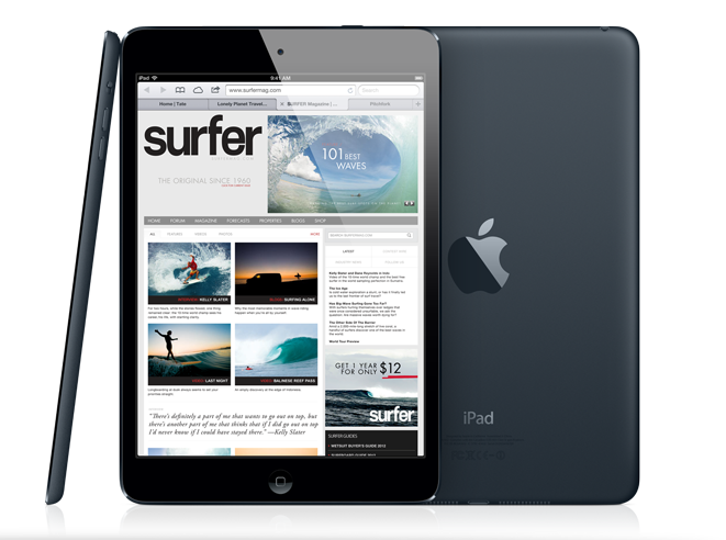 Apple: Verwirrung um Stereolautsprecher beim iPad Mini - iPad Mini (Bild: Apple)