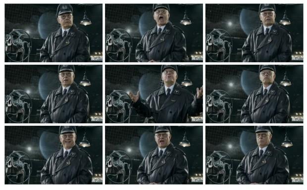 Iron Sky: Invasion - Ausschnitt aus den Filmaufnahmen für die Zwischensequenzen (Bild: Topware)