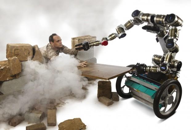 Mike Stilman will Robotern beibringen, zu improvisieren... (Foto: Josh Meister/Georgia Tech)