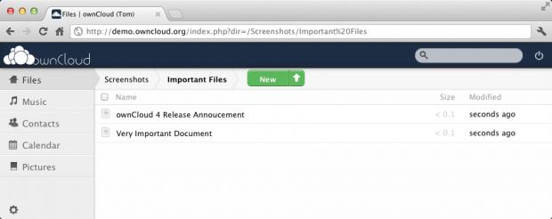 Owncloud - eine freie Serverlösung für die Dateisynchronisierung und den Dateiaustausch (Bild: Owncloud)