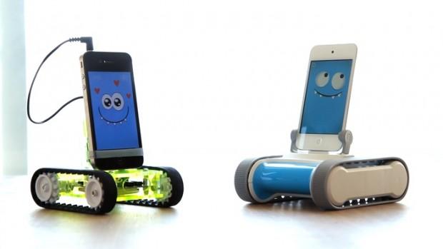 Der alte Romo (2012) und der neue Romo (2013) von Romotive (Bild: Hersteller)