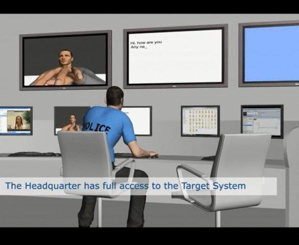 Ausschnitt aus einem Werbevideo für Überwachungssoftware von Gamma International (Screenshot: ROG)