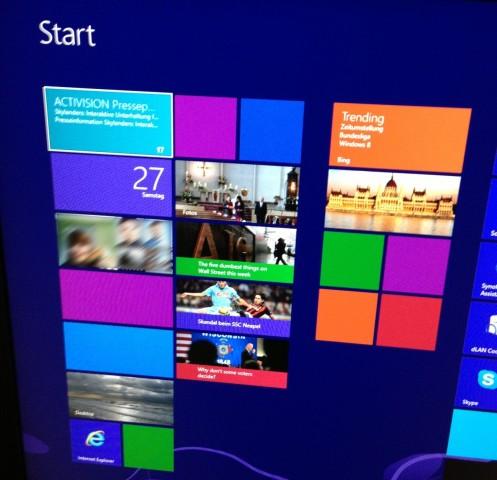 Windows 8 - das Live-Kachel-Memory... (Bild: Christian Klaß/Golem.de)