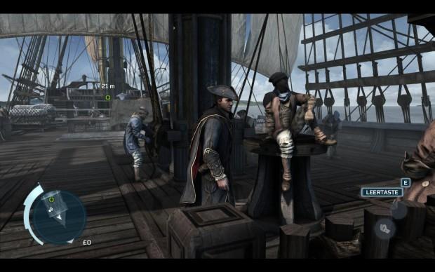 PC-Version von Assassin's Creed 3 mit höchster Grafikqualität...