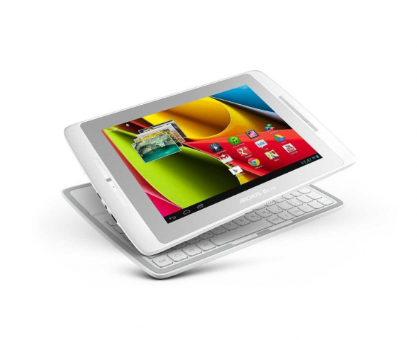 Archos 80 XS mit Coverboard (Quelle: Amazon)